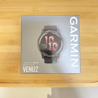 ガーミン(GARMIN)のGARMIN VENU2 BLACK(腕時計(デジタル))