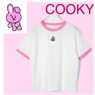 防弾少年団(BTS) - 新品 BT21 ヘザー Tシャツ COOKY BTS ジョングク グク クキ