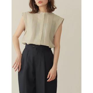 TODAYFUL - 即日発送【新品】Louren pintuck backopen blouse