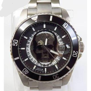 Lucien pellat-finet - ルシアンペラフィネ 自動巻き 裏スケ スカル 腕時計