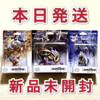 カプコン(CAPCOM)のモンスターハンター ライズ amiibo アミーボ マガイマガド モンハン 3体(ゲームキャラクター)
