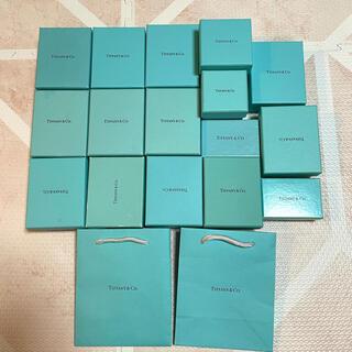 ティファニー(Tiffany & Co.)のティファニー 空箱 巾着 リングケース アクセサリーポーチ ショッパー(ショップ袋)