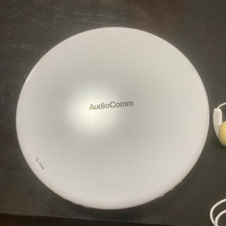 オームデンキ(オーム電機)のaudio comm  AudioComm  CDプレーヤー イヤホン付き(ポータブルプレーヤー)
