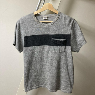 ウェストトゥワイス(Waste(twice))の【送料無料】WASTE TWICE ウエストトゥワイス 日本製ポケT サイズ36(Tシャツ/カットソー(半袖/袖なし))