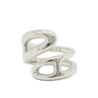 エルメス(Hermes)のエルメス HERMES シェーヌダンクルツイストリング 指輪 925 49(リング(指輪))