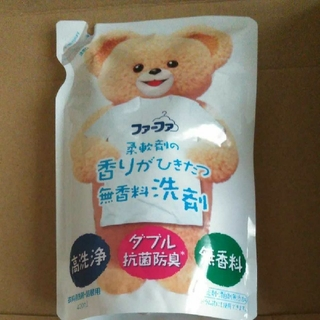 ファーファ 柔軟剤の香りがひきたつ無香料洗剤400ml  30個(洗剤/柔軟剤)
