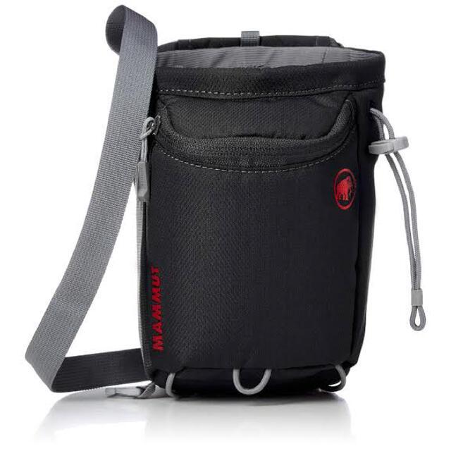 Mammut(マムート)の【新品】MAMMUT Multipitch Chalk Bag Black スポーツ/アウトドアのアウトドア(登山用品)の商品写真