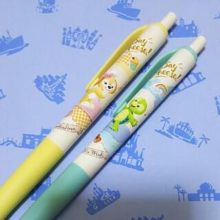 ダッフィー - ディズニー シー ダッフィー&フレンズ クッキー・オルメル ボールペン2本セット