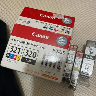 キヤノン(Canon)のcanon 純正インク 321 320 (PC周辺機器)