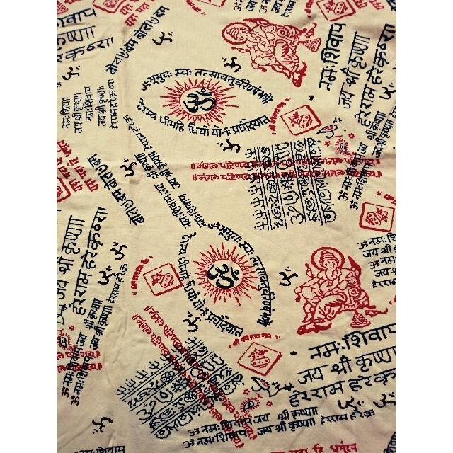 チャイハネ(チャイハネ)の未使用 エスニックTシャツ M オフホワイト チャイハネ メンズのトップス(Tシャツ/カットソー(半袖/袖なし))の商品写真