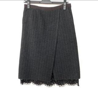 サカイラック(sacai luck)のサカイラック サイズ1 S(ひざ丈スカート)
