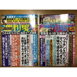 コウダンシャ(講談社)の週刊現代 2021年 2冊(ニュース/総合)