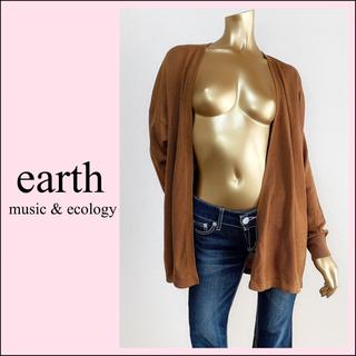 アースミュージックアンドエコロジー(earth music & ecology)のearth music&ecology カーディガン*ローリズファーム MUJI(カーディガン)