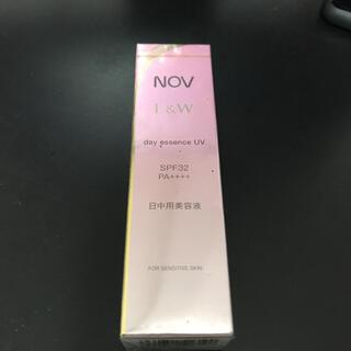 ノブ(NOV)の新品 ノブ L&W デイエッセンス UV  30g 値引き不可  NOV(美容液)