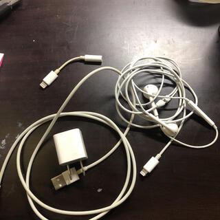 アイフォーン(iPhone)のiPhone イヤホン 充電器(ヘッドフォン/イヤフォン)