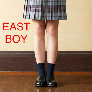 EASTBOY - 新品 イーストボーイ ソックス 靴下 刺繍 EASTBOY ネイビー 13cm
