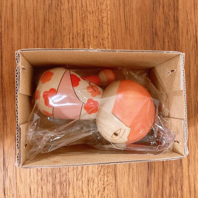 Lisa Larson(リサラーソン)の新品 リサラーソン こけし(Japanska・花柄) インテリア/住まい/日用品のインテリア小物(置物)の商品写真