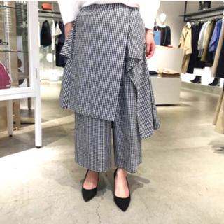 ENFOLD - ★美品★ENFOLD レイヤードスカートパンツ