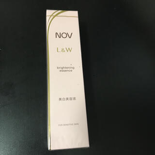 ノブ(NOV)のノブ L&W ブライトニングエッセンス  30g 値引き不可 美白美容液 NOV(美容液)