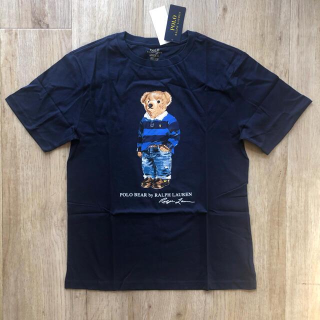 Ralph Lauren(ラルフローレン)のrinrin様専用商品★ラルフローレン 170 ポロベア Tシャツ ネイビー メンズのトップス(Tシャツ/カットソー(半袖/袖なし))の商品写真