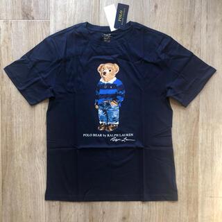 Ralph Lauren - ラルフローレン 170 ポロベア Tシャツ ネイビー