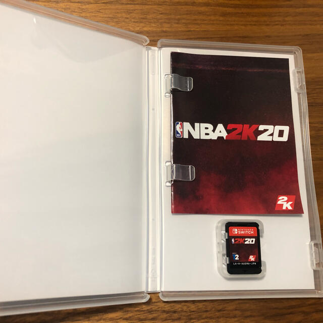 Nintendo Switch(ニンテンドースイッチ)のNBA 2K20 Switch エンタメ/ホビーのゲームソフト/ゲーム機本体(家庭用ゲームソフト)の商品写真