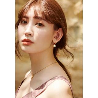 snidel - Gold-tone Faux Pearl Earrings