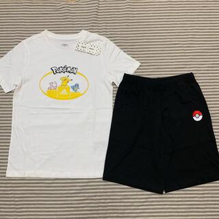 adidas - 新品 アディダス ポケモン 半袖 Tシャツ ハーフ パンツ セット 160