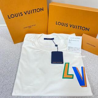 ルイヴィトン(LOUIS VUITTON)の国内正規品 新品 ルイヴィトン×NBA F&B レター Tシャツ XL 付属品(Tシャツ/カットソー(半袖/袖なし))