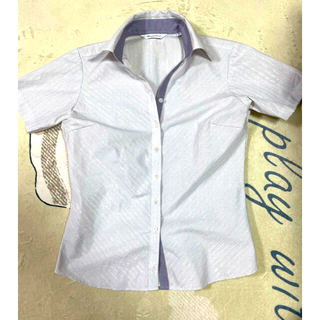 スーツカンパニー(THE SUIT COMPANY)のBrick House  形状記憶シャツ(シャツ/ブラウス(半袖/袖なし))