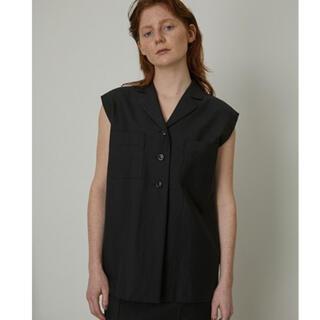 ENFOLD - 完売 新品タグ付 RIM.ARK Cotton linen box tops