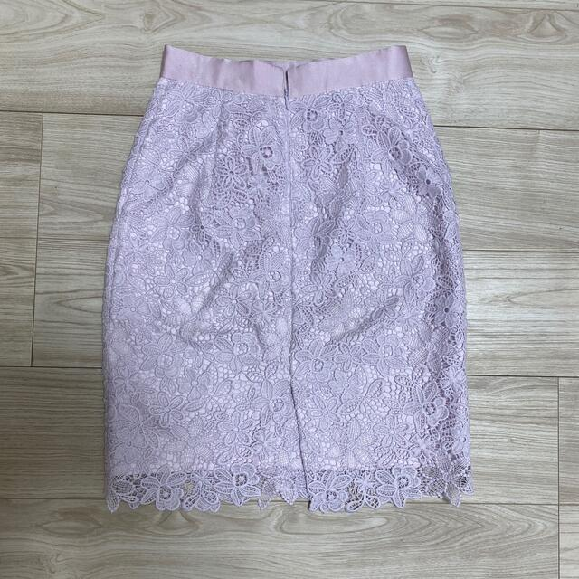 Apuweiser-riche(アプワイザーリッシェ)のアプワイザーリッシェ ケミカルレースタイトスカート レディースのスカート(ひざ丈スカート)の商品写真