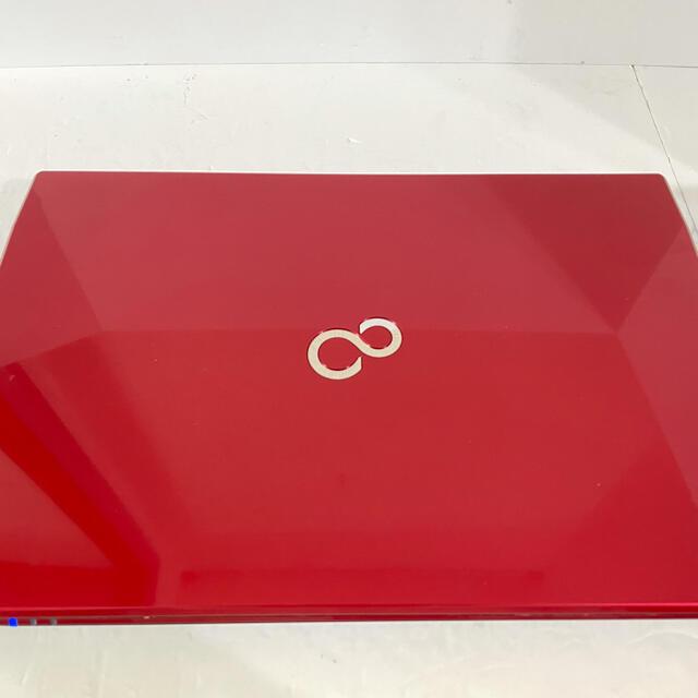 富士通(フジツウ)の富士通 ノートパソコン PC i3 SSD HDD テンキー ウェブカメラ スマホ/家電/カメラのPC/タブレット(ノートPC)の商品写真