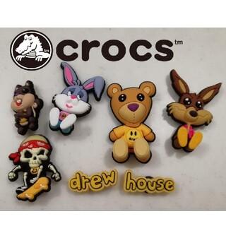 crocs - Drew house クロックス アクセサリー 7個セット