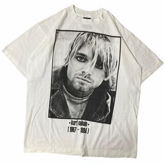 【希少】kurt cobain カートコバーン 肩幅54身幅57袖丈22着丈73(Tシャツ/カットソー(半袖/袖なし))