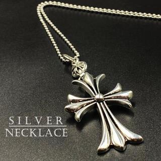 ネックレス クロス デザイン シルバー アクセサリー 十字架 272A F