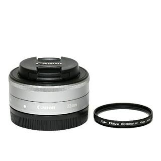 Canon - 【Canon】美品☆EF-M 22mm f/2 STM☆単焦点レンズ