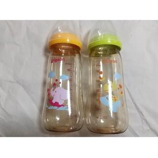 ピジョン(Pigeon)の母乳実感 哺乳瓶 330ml 2個セット プラスチック(哺乳ビン)