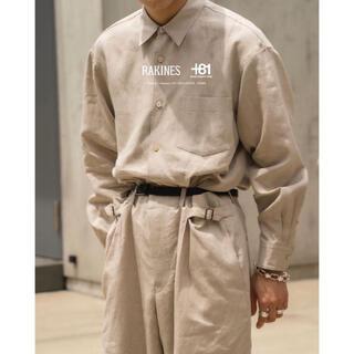 COMOLI - 【即完】RAKINES リネンシャツ for plus81