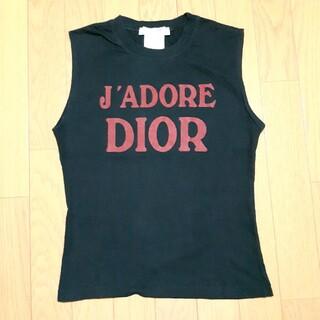 クリスチャンディオール(Christian Dior)のクリスチャン・ディオール タンクトップ 正規品(タンクトップ)