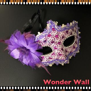 セール新品 総レース フラワーアイマスク 仮面変装アイマスク ハロウィンコスプレ(小道具)