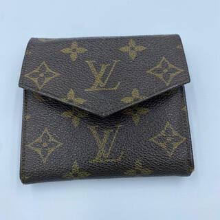 LOUIS VUITTON -  Louis Vuitton ルイヴィトン モノグラム 二つ折り財布
