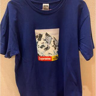 dude9 supreme thenorthface tシャツ