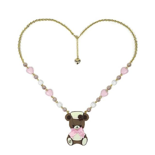Angelic Pretty(アンジェリックプリティー)のBear's Chocolaterieショコラティエネックレス レディースのアクセサリー(ネックレス)の商品写真