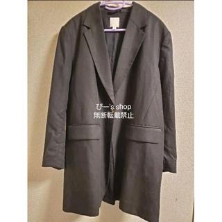 エイチアンドエム(H&M)のリネンブレンド オーバーサイズジャケット(テーラードジャケット)