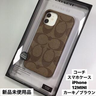 COACH - 新品 コーチ ♦︎  スマホケース iPhone  12   MINIS