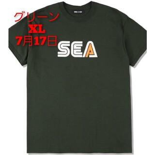 シー(SEA)のWDS (SEA-DRIVE) TEE / GREEN (CS-298)(Tシャツ/カットソー(半袖/袖なし))