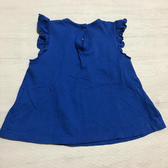 PETIT BATEAU(プチバトー)のPETIT BATEAU カットソー 6m/67cm キッズ/ベビー/マタニティのベビー服(~85cm)(シャツ/カットソー)の商品写真