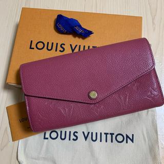 LOUIS VUITTON - ルイヴィトン LOUIS VUITTON ポルトフォイユサラ 長財布