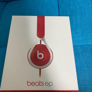 ビーツバイドクタードレ(Beats by Dr Dre)のBeats by Dr Dre BT EP ON RED(ヘッドフォン/イヤフォン)